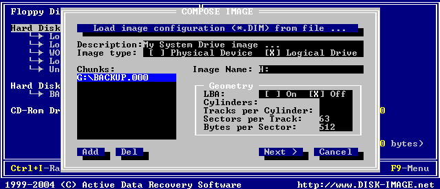 Disk Image for DOS
